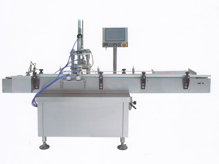 YS-YTS-50 Cap lining machine for Alien cap by air-push