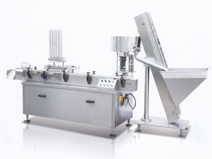 YS-ZSP-200B linear aluminum foil stuffed pad machine